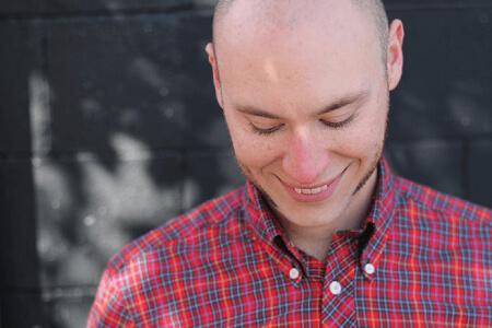 Male Millennial Voice Over Talent Ian Fishman's Secondary Headshot