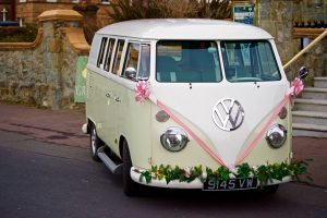 VW decked out for Millennial wedding. Photo by Thomas Curryer.
